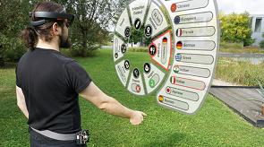 Vorschau für das Forschungsprojekt: CHARM: Cord-based Haptic Augmented Reality Manipulation