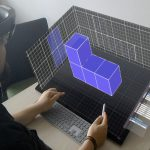 DesignAR: Immersive 3D-Modeling Combining Augmented Reality with Interactive Displays