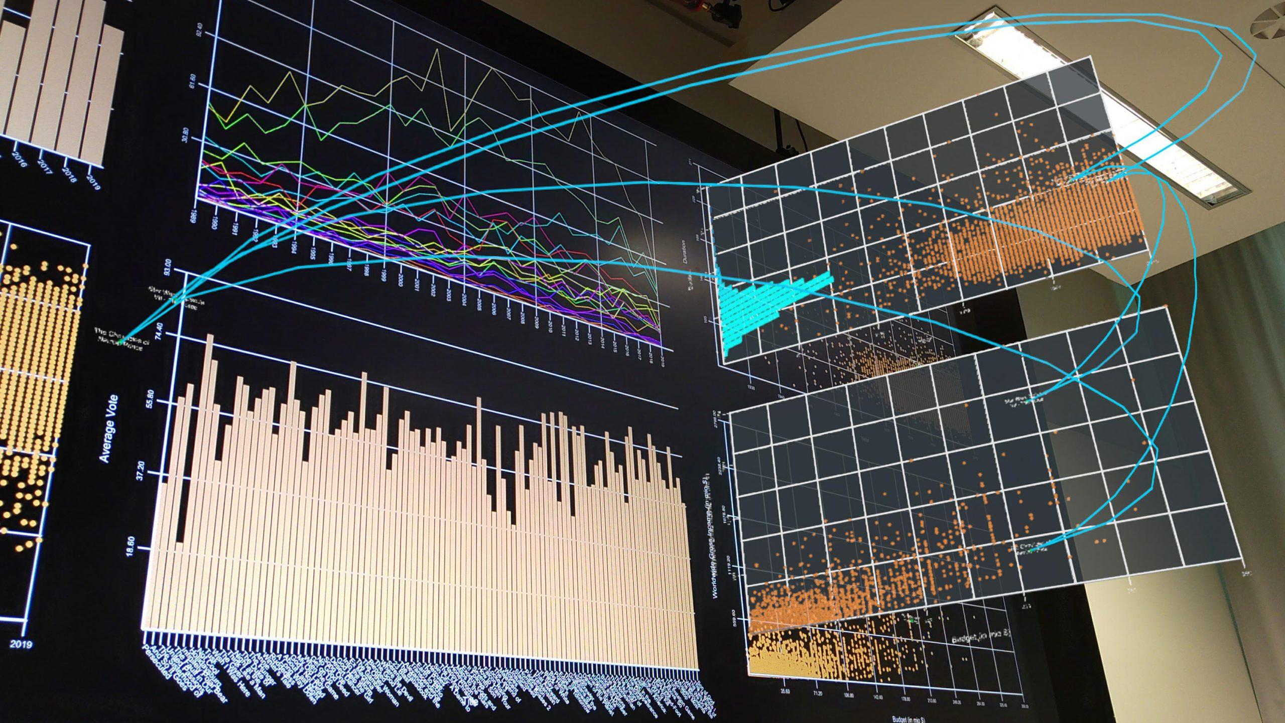 Vorschau für das Forschungsprojekt: Personal Augmented Reality for Information Visualization on Large Interactive Displays