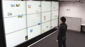 Vorschau für das Forschungsprojekt: FlowTransfer: Content Sharing Between Spatially-Aware Mobile Phones and Large Vertical Displays