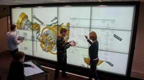 Vorschau für das Forschungsprojekt: I4D – Integrierter Informations- und Interaktionsraum für Industrie 4.0 in Dresden