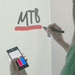 Eyes-Free Touch Command Support for Pen-Based Digital Whiteboards via Handheld Devices
