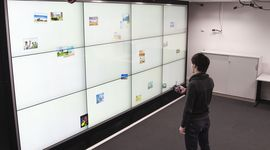 Preview for research project: FlowTransfer: Content Sharing Between Spatially-Aware Mobile Phones and Large Vertical Displays