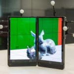 Foldable3D: Interacting with 3D Content Using Dual-Display Devices