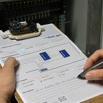 Illuminated Interactive Paper with Multiple Input Modalities for Form Filling Applications