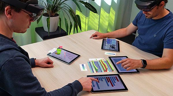 Vorschau für das Forschungsprojekt: MARVIS: Mobile Devices + AR for Visual Data Analysis