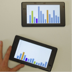 Towards Combining Mobile Devices for Visual Data Exploration