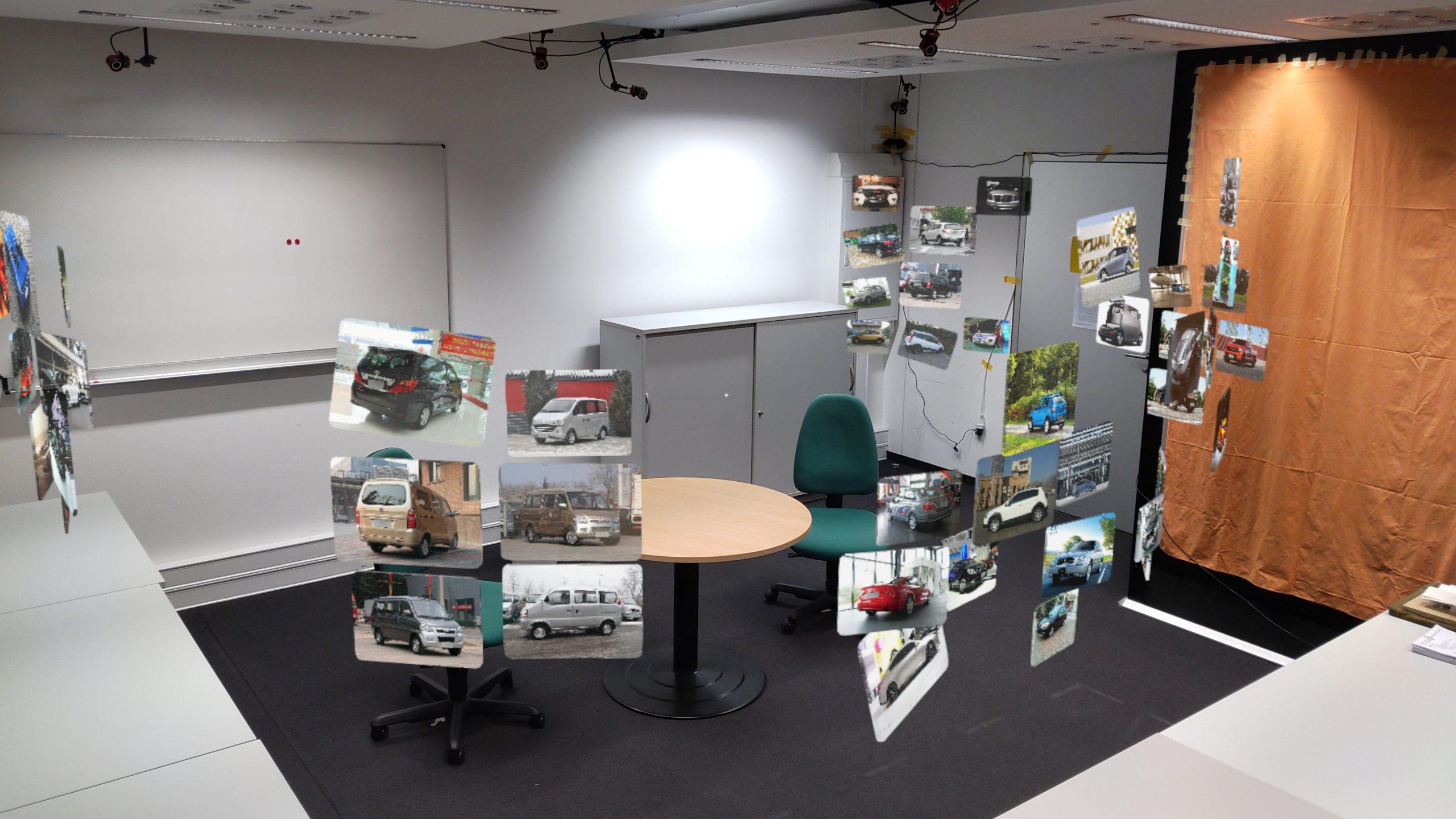 Vorschau für das Forschungsprojekt: Document Layout and Placement Strategies in AR